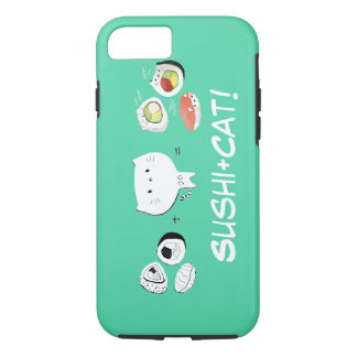 Cat plus Sushi equals Cuteness! iPhone 8/7 Case