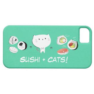 Cat plus Sushi equals Cuteness! iPhone SE/5/5s Case