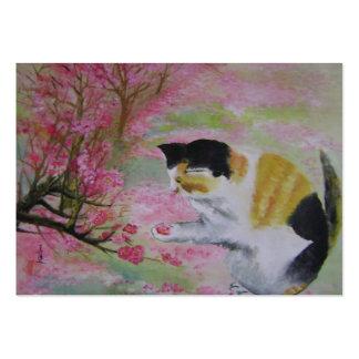 cat poet business card
