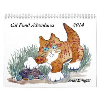 Cat Pond Adventures - 2014 Calendar