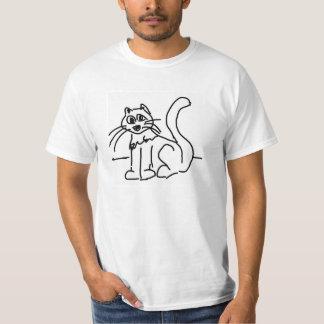 Cat pop art original primitive unique cool T-Shirt