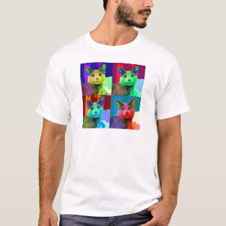 Cat Pop Art T-Shirt