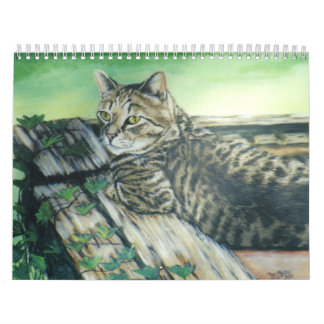 Cat Portrait 2011 Calendar