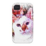 CAT PORTRAIT ANGEL iPhone 4 Case-Mate Case