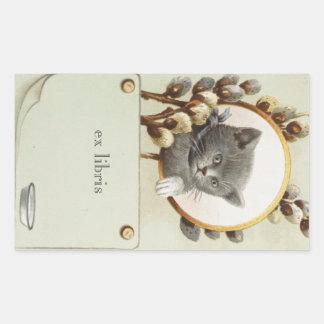 CAT PORTRAIT BOOKPLATE