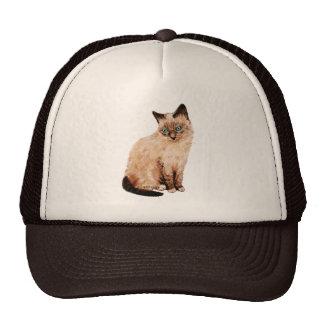 Cat Portrait Trucker Hat