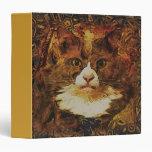"""CAT PORTRAIT KATIE 1.5"""" Ring Binder"""