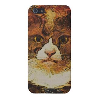 CAT PORTRAIT KATIE COVER FOR iPhone SE/5/5s