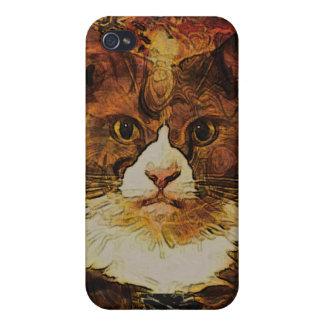 CAT PORTRAIT KATIE iPhone 4/4S COVERS