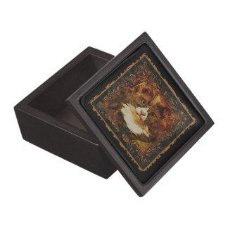 CAT PORTRAIT KATIE Trinket Box Premium Gift Boxes