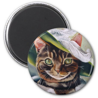 Cat Portrait Magnet