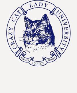 Cat Portrait - Navy CCLU Seal T-Shirt