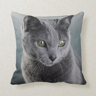 Cat Portrait Throw Pillows