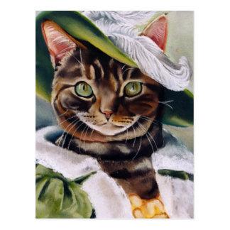 Cat Portrait Postcard