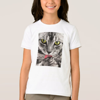 Cat Portrait T-Shirt