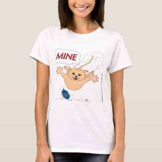 Cat Pouncing on Hanukkah Dradle T-Shirt