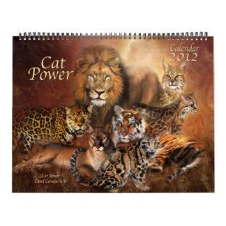 Cat Power Art Calendar 2012