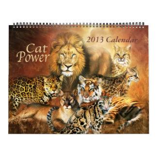 Cat Power Art Calendar 2013