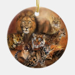 Cat Power Holiday Ornament