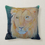 Cat Pride Lion Throw Pillow