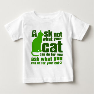 Cat_Print Baby T-Shirt