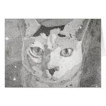 Cat Print Card