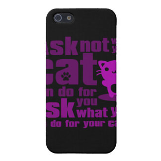 Cat_Print Case For iPhone SE/5/5s