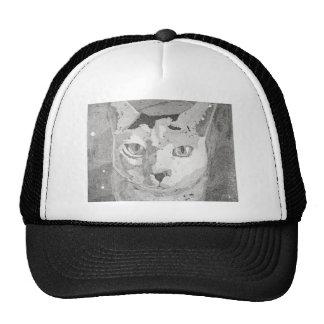 Cat Print Trucker Hat