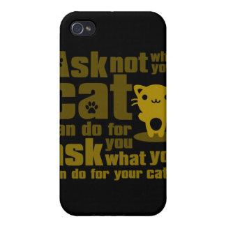 Cat_Print iPhone 4/4S Case