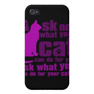 Cat_Print iPhone 4/4S Cover