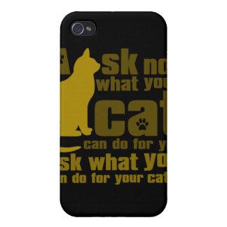 Cat_Print iPhone 4 Case