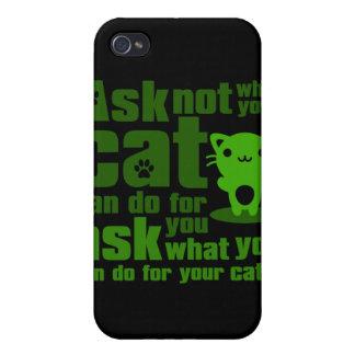 Cat_Print iPhone 4 Cover