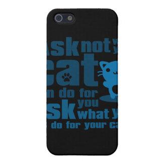 Cat_Print iPhone SE/5/5s Case