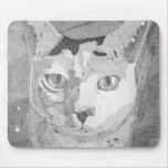 Cat Print Mouse Pad