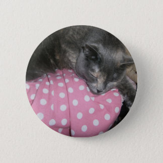 Cat products pinback button