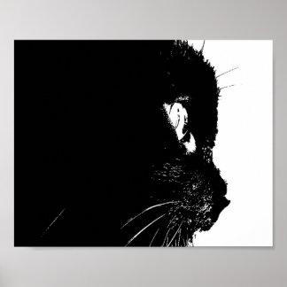Cat Profile Print