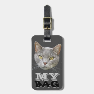 Cat protecting your Bag ;-) Luggage Tag