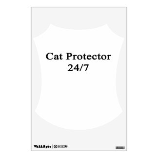 Cat Protector 24/7 Wall Decor
