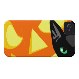 Cat Pumpkin Halloween iPhone 4 Cover