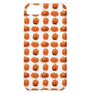 Cat Pumpkin Head Pattern iPhone 5C Cover