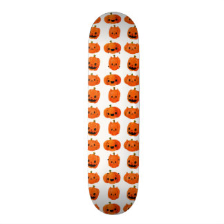 Cat Pumpkin Head Pattern Skateboard Deck