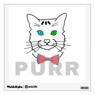 Cat Purr Wall Sticker