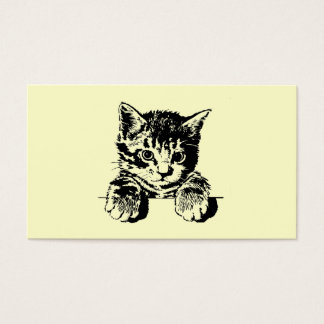 Cat PURRfection Business Card