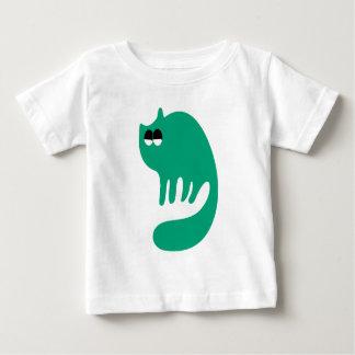 Cat Purring Green Satisfied Smug Eyes Shirts