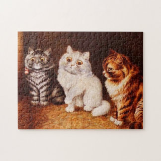 Cat Puzzle, Louis Wain Cats Jigsaw Puzzle