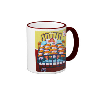 Cat Quilt Coffee Mug