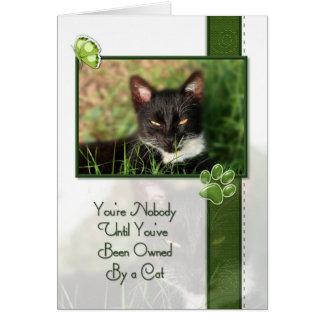 Cat Quote Card