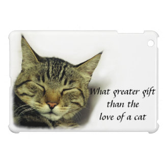 Cat quote Ipad case