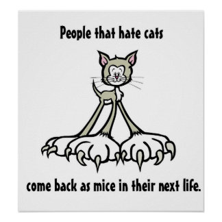Cat Quotes 3 Poster