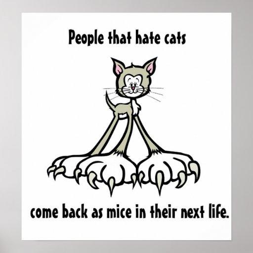 Cat Quotes 3 Print
